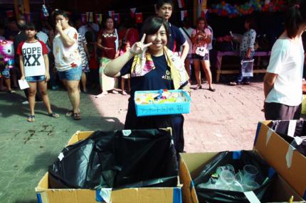 1月 タイの子供の日活動1