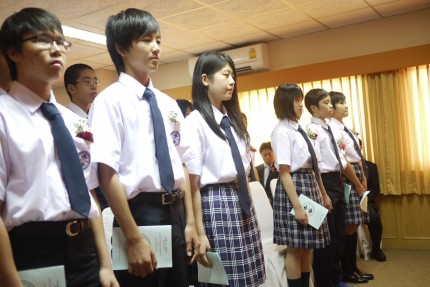 2016年度入学式の様子2